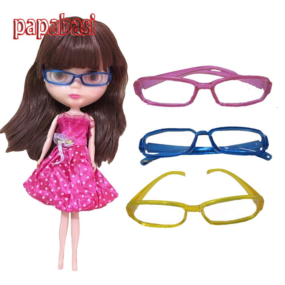 6 BJD Blyth Doll S! Fashion Doll accessories DIY Glasses for 1
