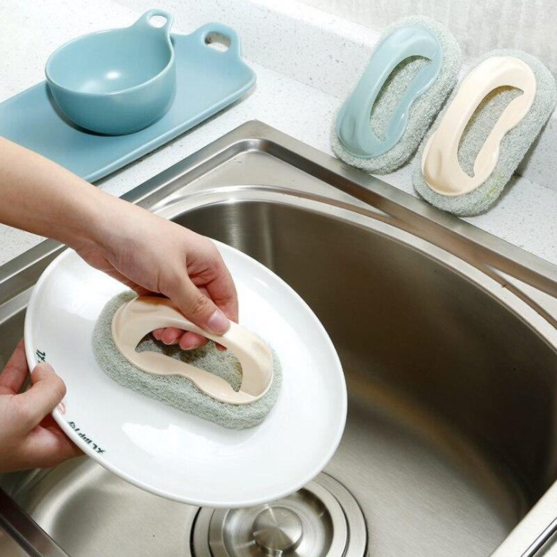 Bathtub brush bathroom ceramic tile brush kitchen decontamination cleaning brush