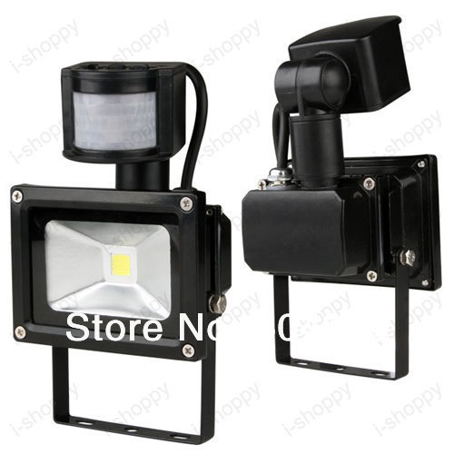 High Power 20W 1800LM Detector PIR Motion Sensor Security Flood Light Gate Stairs Garden Garage Exit Entrance Lamp Kit IP65 In Outdoor Wall Lamps From