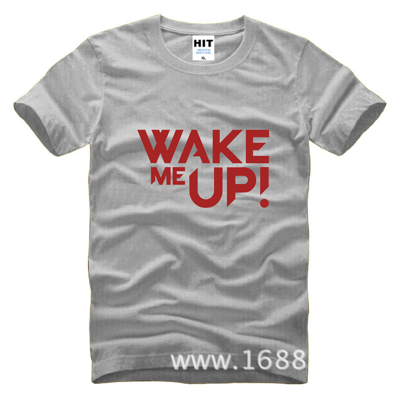 Rock Band Avicii DJ Wake Me Up Loose Mens Men T Shirt