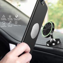 New Car Phone Holder Luminous Magnetic Mount 360 Rotation Universal for phone Black Red Color
