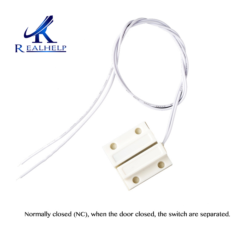 Window Sensor Alarm Mini Home Magnetic Door Window Entry Warning Alarm Switch Door Contact Magnet NC Security Door
