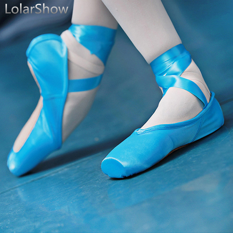Detail Feedback Questions about Ballet Dance Wear Pointe Shoes Satin Ballet  Shoes Women Kids Point Dance Shoes SZ33 43 on Aliexpress.com  40dee6d76dc4