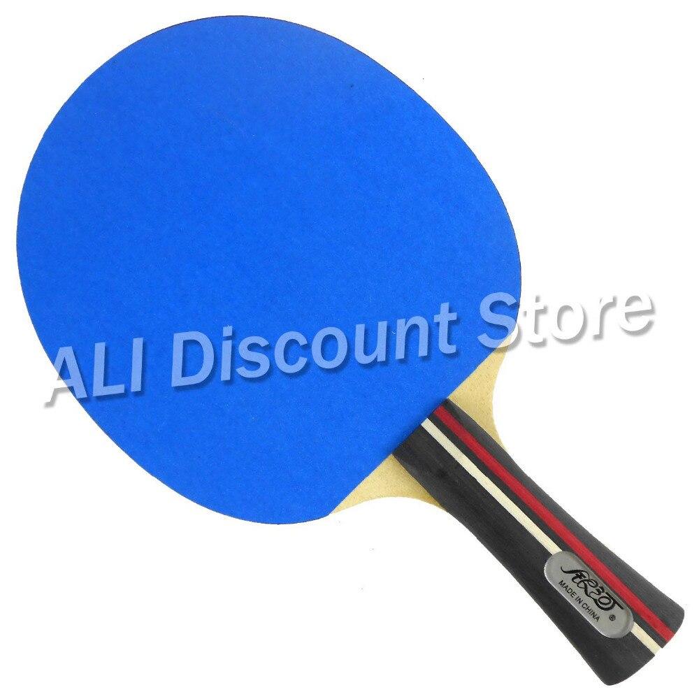 Galaxy YINHE Emery Paper Racket EP-100 Sandpaper Ping Pong Paddle galaxy yinhe emery paper racket ep 150 sandpaper table tennis paddle long shakehand st