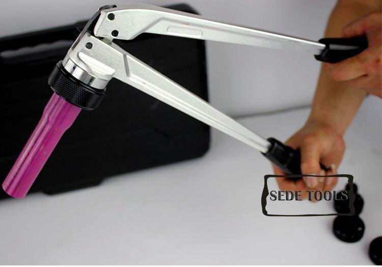 Pex обжимные Зажимные инструменты PEX-1632 диапазон 16-32 мм для REHAU системы Rehau Сантехнический набор инструментов