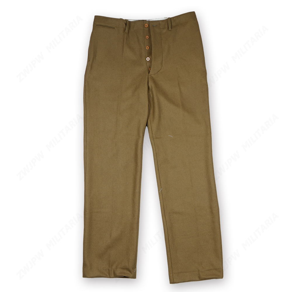 WW2 M37 Woolen Pants Trousers D-day Re-export High Quality