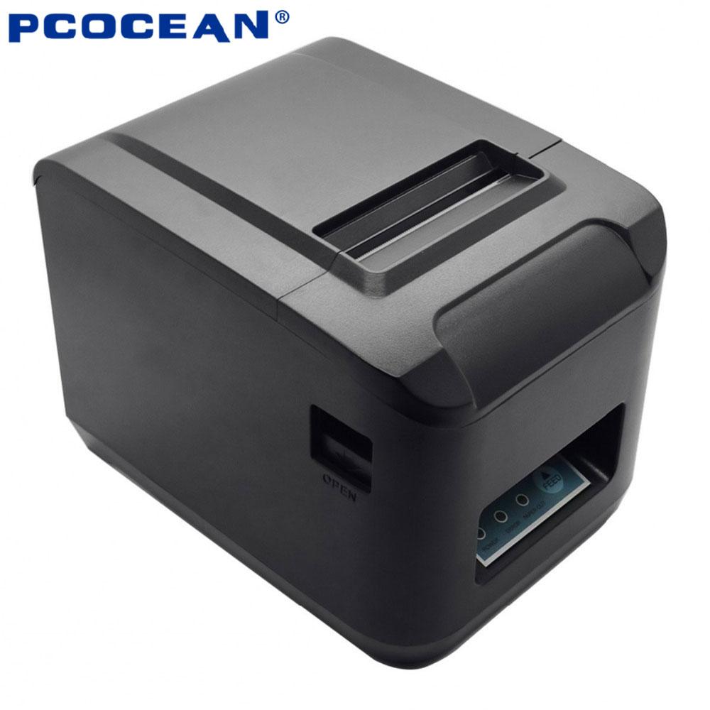 USB bluetooth thermal receipt printer 80mm pos printer auto cutter ESC/POS for Windows /Android /IOS Phone POS print 260mm/s