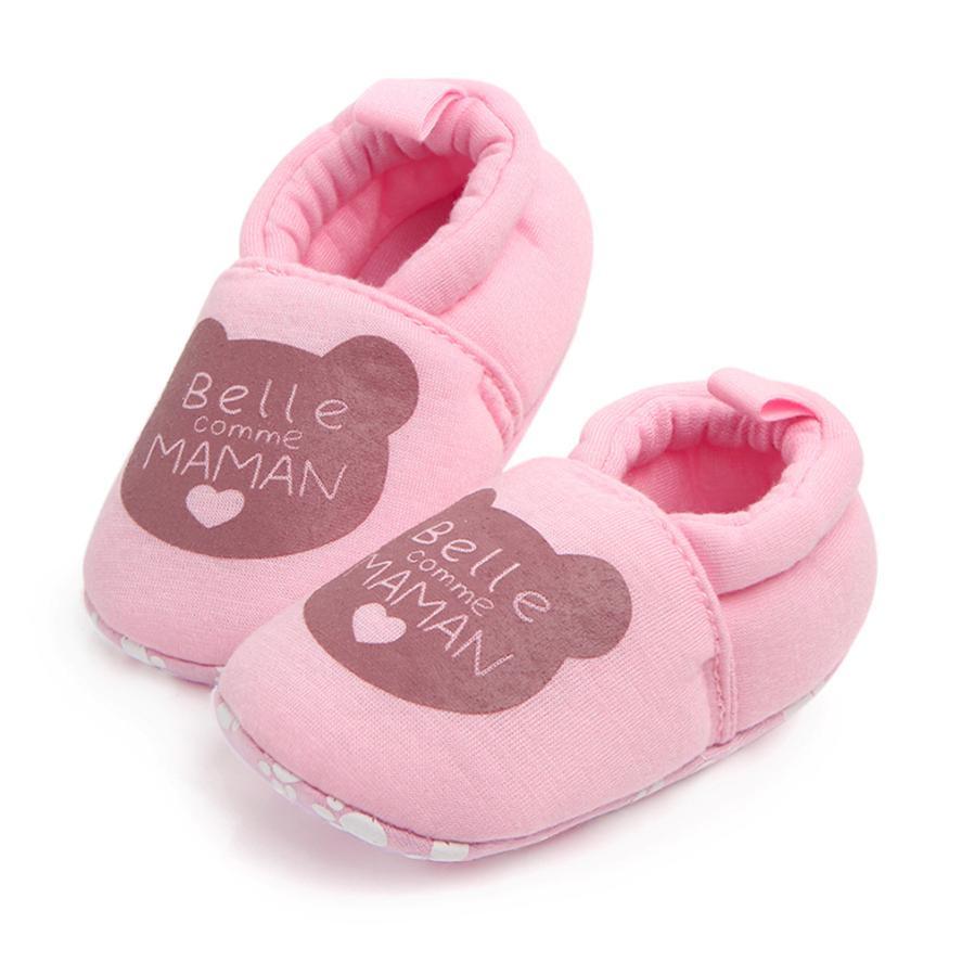 Mooie Cartoon Pasgeboren Baby Meisjes Prinses Winter Warm - Baby schoentjes - Foto 3