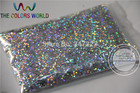 1.0MM Laser Silver Color Glitter Powder,holographic Glitter for nail gel or Other Decoration