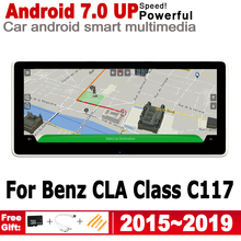 2G+16G Android 7.0 up Car radio GPS multimedia player For Mercedes Benz CLA Class C117 2015~2019 NTG Navigation Navi Map WiFi BT liandlee car android for ford transit tourneo custom 2017 2018 radio camera carplay bt gps navi map navigation screen multimedia