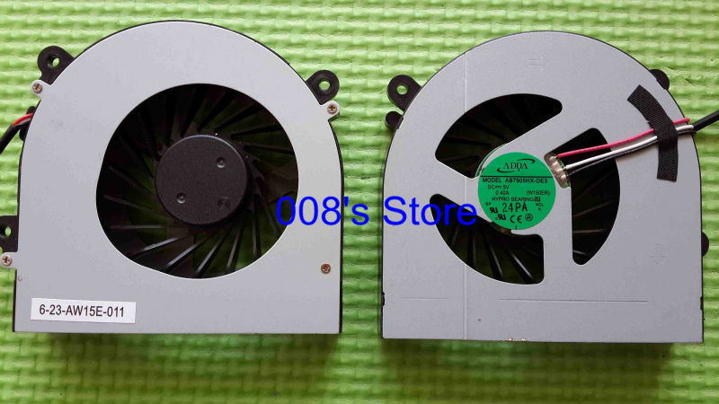 Brand New Laptop CPU Cooler Fan For CLEVO W150 W150er W350 W350ETQ W370 W370ETQ W370SKQ AB7905HX-DE3 DC 5V 0.4A W150ER
