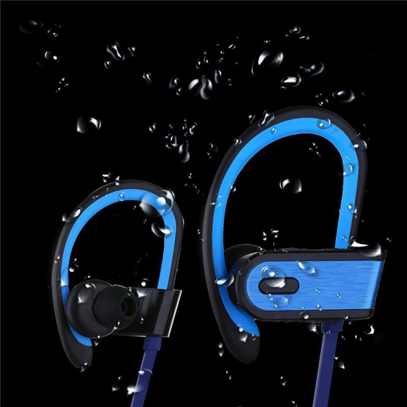 Wireless Earphone Nosie Cancelling Bluetooth Headphone Sport Headset Earhook Earbuds for iPhone Samsung Android Phone mini style wireless bluetooth earphone v4 1 sport headphone phone bluetooth headset with micro phone for iphone android bt023