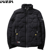 LIESA Mens Winter Parkas Casual Men's Down Jacket Slim Fit Stand Fashion Men's Jackets And Coats Male Thick Outwear H32