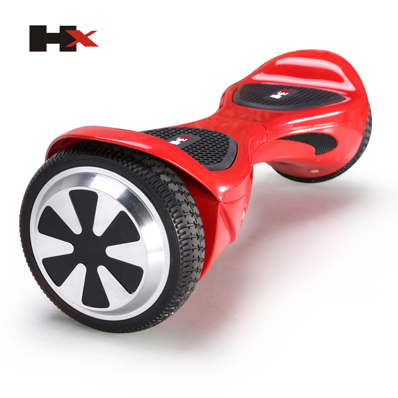 Free shipping 6.5 inch HX UL2272 Self Balance Electric Standing Hoverboard Scooter LED Light Two Wheel Smart Skateboard