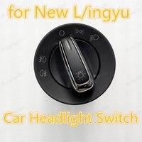 Polarlander nevoeiro farol botão da lâmpada para novo l/ingyu carro farol ligar/desligar interruptor 3bd941531|fog lamp button|button for car|car button -