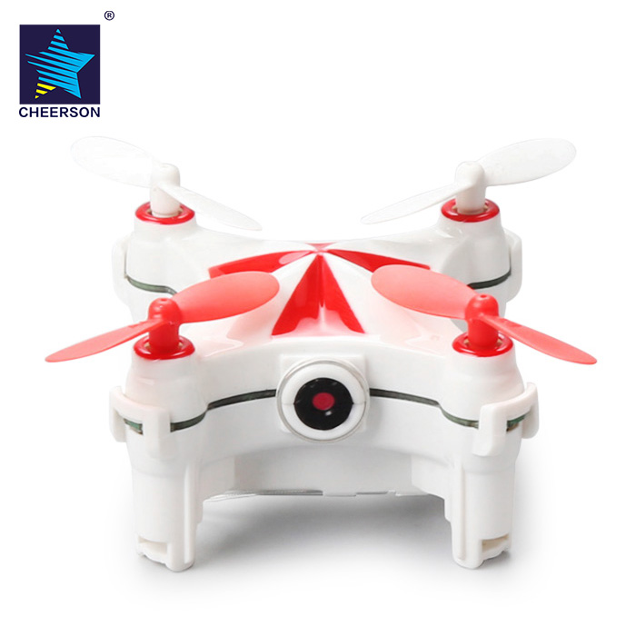 CHEERSON Micro RC Selfie Drone Dron WiFi FPV 0.3MP Camera Drones Optical Flow Sensor Dance Programming Helicopter Beginner Level modular design drones gteng t908w drone dron diy 2 4ghz 4ch rc quadcopter rtf wifi fpv camera wifi app quadcopters rc toys