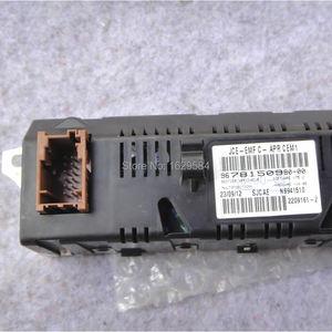 Image 4 - Araba monitör desteği USB 2 bölgeli hava Bluetooth ekran monitör 12 pin Peugeot 307 407 408 citroen c4 C5 sarı ekran