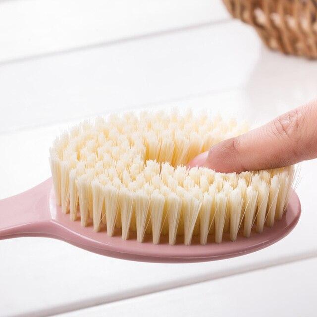 Body Back Scrubber Body Scrubber Exfoliating Long Handled Bath Shower Brush for Men Women anti-cellulite brush Massage 1