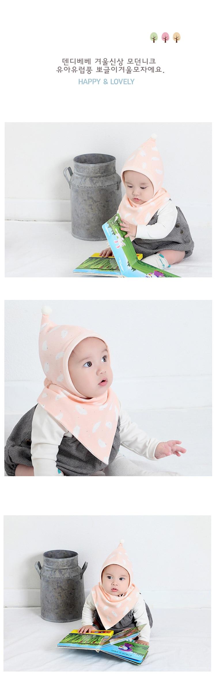 Baby Bibs Cute Cartoon Pattern Toddler Baby Waterproof Saliva Towel Cotton Fit 0-3 Years Old Infant Burp Cloths Feeding