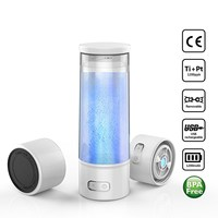 Portable Hydrogen Rich Water Ionizer Maker Generator Alkaline Energy Bottle Pure H2 Hydrogen Rich Water USB