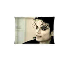Michael Jackson The King Of Rock  Custom Pillows Covers Invisible Zippered Throw Pillows Cases Gift