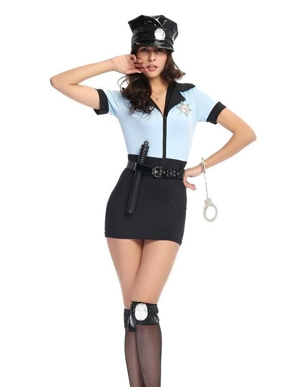 Sexy police officer halloween costume Nude Photos 43