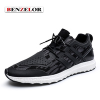 BENZELOR Adolescent S 2017 Brand Men Shoes Comfortable Lycra Chaussure Homme Quality Popular Spring Autumn Schoenen