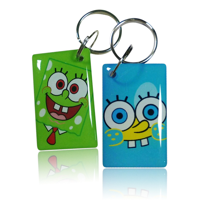 1Pcs/lot UID Card Smart Tags Key RFID 13.56Mhz Rewritable Copy Clone Epoxy Card Changeable Sector 0 Block Writable