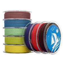 DIY 2mm Silk thread milan cord Jewelry & packing & shoes rope Necklaces & Bracelets cords 30colors No.1-15color 6meters/roll