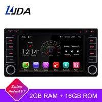 LJDA 2 Din Android 9,1 автомобильный dvd плеер для Subaru Forester Impreza 2008 2011 Wifi радио gps навигатор 2G ram стерео аудио мультимедиа