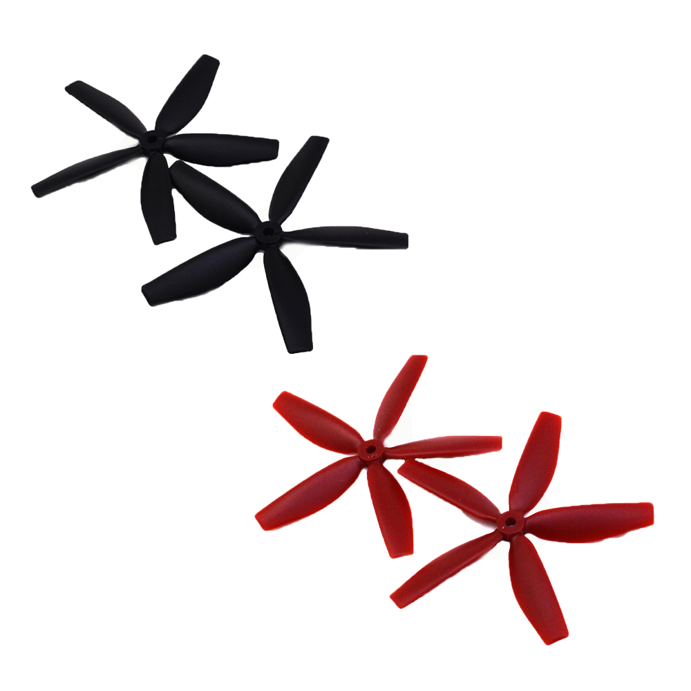 FPV quadcopter propellers 2 pairs FPV 5 blade propeller 5045 CW/CCW X50404