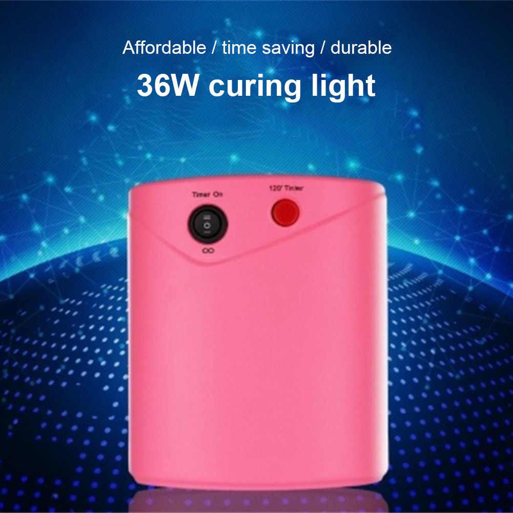 ネイルアートランプ光 36 ワットドライヤー UV ジェルポリッシュ硬化乾燥機便利な女性のための女性 PAK55