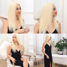 Remy Forte Lace Front Human Hair Wigs Blonde Wig 613 14/16/18 150% Density human hair wigs