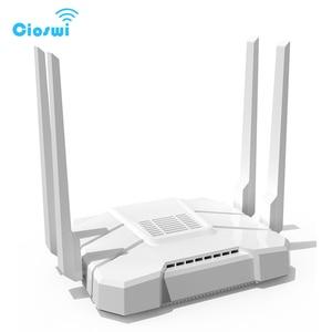 Image 2 - Фрезерный двухдиапазонный Wi Fi роутер с разъемом для sim карты, 2,4 Мбит/с, openWRT, 512 МБ, 4*5 дБи, внешняя антенна, гигабитный роутер soho