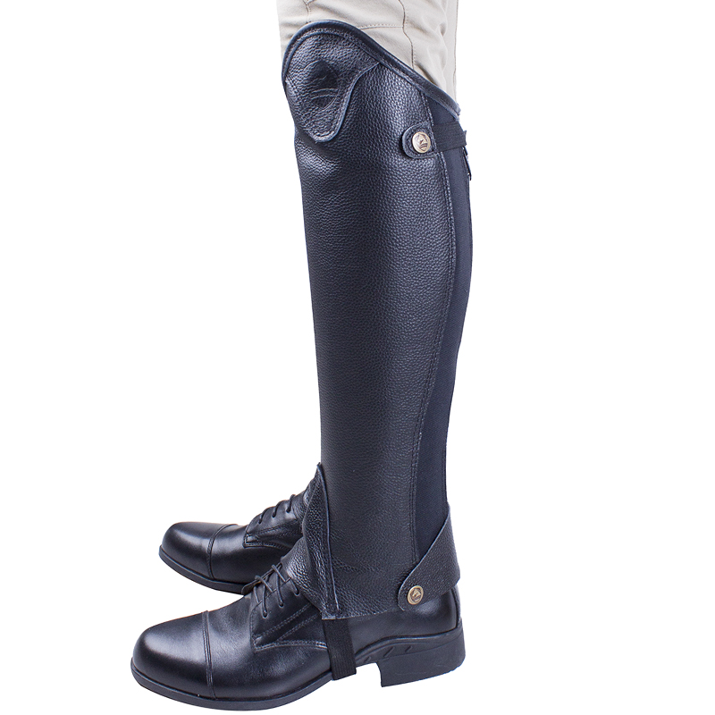 Adult Rider Equestrian Riding equipment large leather leggings Leather Knight protector  ...
