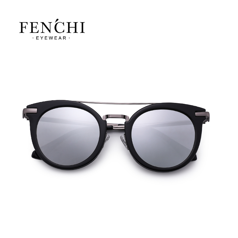 2019 new polarized lady sunglasses fashion trend frame series sunglasses 3