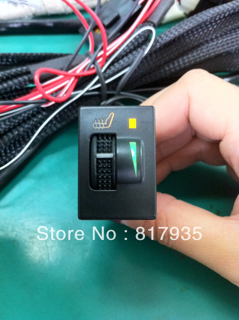 1 seat use auto seat heater series Switch ,No Cutting alloy wire ...