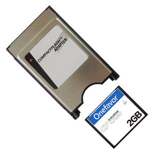 128 MB 256 512 1 GB 2 CF Card With CompactFlash Adapter