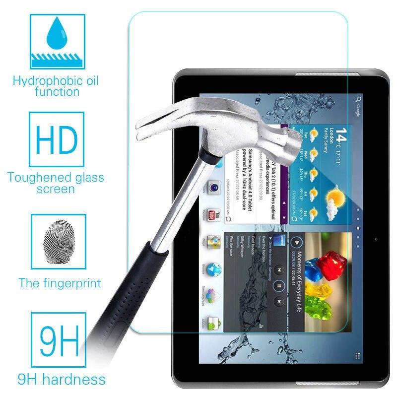 Tablet-zubehör Frank Für Samsung Galaxy Tab 2 10,1 P5100 P5110 Gt-p5110 9 H Gehärtetem Glas Screen Protector Film 100% Hochwertige Materialien