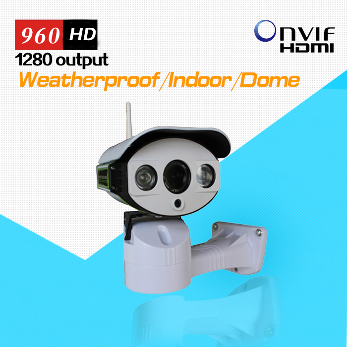 купить IP CCTV Camera Outdoor Pan/Tilt 960P 1.3MP HD with TF/Micro SD Slot Two Way Audio Array IR 50M ONVIF RTSP недорого