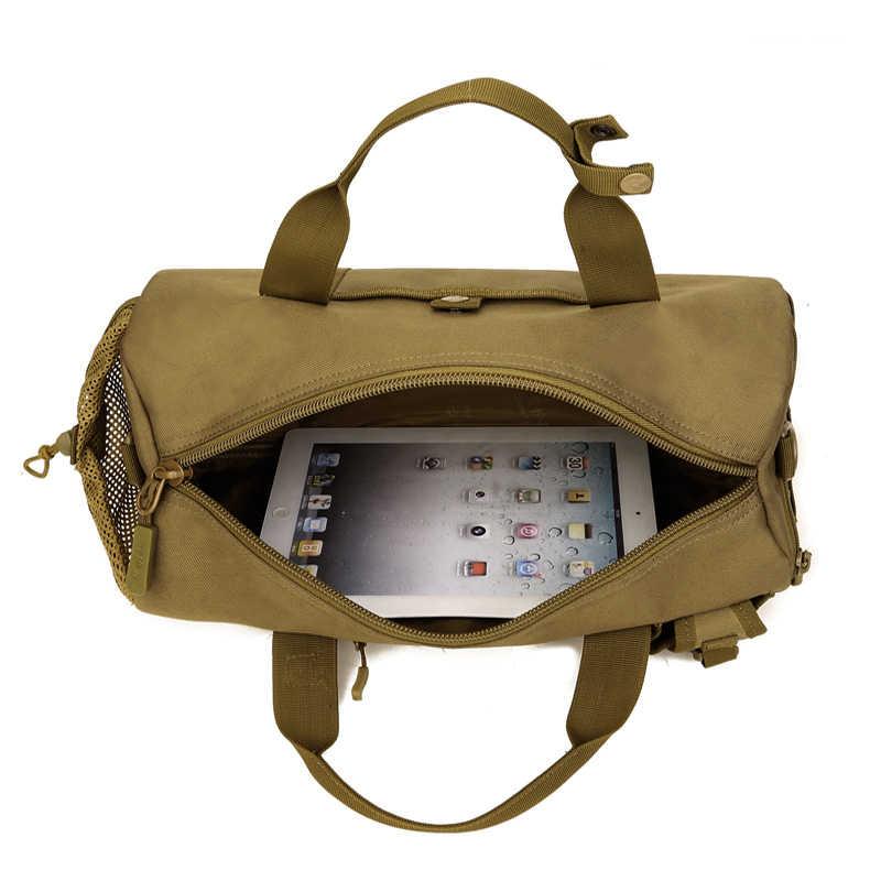 Bolsas de deporte de camuflaje para gimnasio, bolsas deportivas, bolsas de entrenamiento deportivas, bolsas de equipaje de viaje grandes y impermeables para hombre
