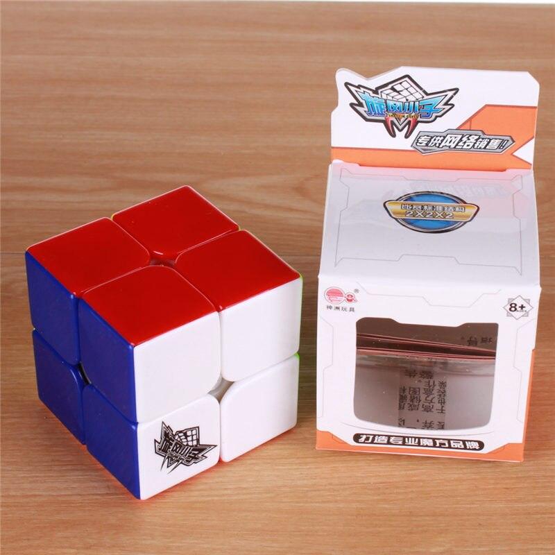 5pcs / set 2x2x2 Magic hastighet Cube puzzle Sticker mindre Speed - Puslespill - Bilde 4
