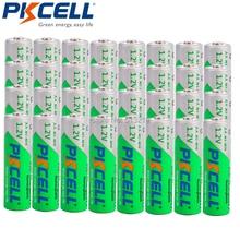 32 x PKCELL AA 2200MAH 1.2V Ni Mh 2A Batterie Ricaricabili LSD 2.2Ah Bassa Autoscarica aa ricarica della batteria batteria