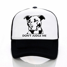 Dont Judge Me summer Men Women Baseball Cap High Quality print letter Cool Summer Mesh Net Trucker Dad Hat