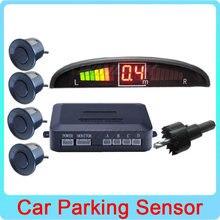 Вариант 6 Цветов Автомобилей LED-Монитор Датчик Парковки Автореверса Резервное Копирование Радар-Детектор Система Помощи При Парковке 4 Датчики