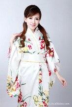 Chinese Ladies  Gown Women's Satin Kimono Robe
