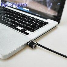 Kensington Original diebstahl Sicherheitsschlüssel Computer Laptop Lock (1,5 mt stahl kabel kette) Freies Verschiffen K64636