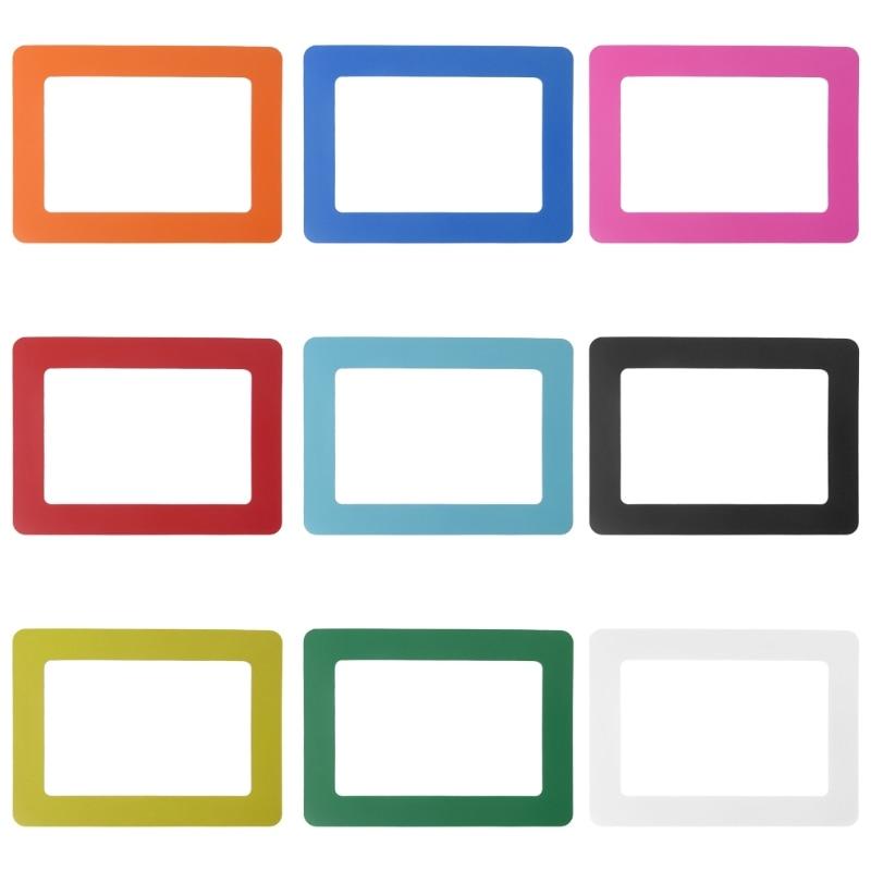 DIY Colorful Magnetic Picture Frames Fridge Refrigerator Magnet ...