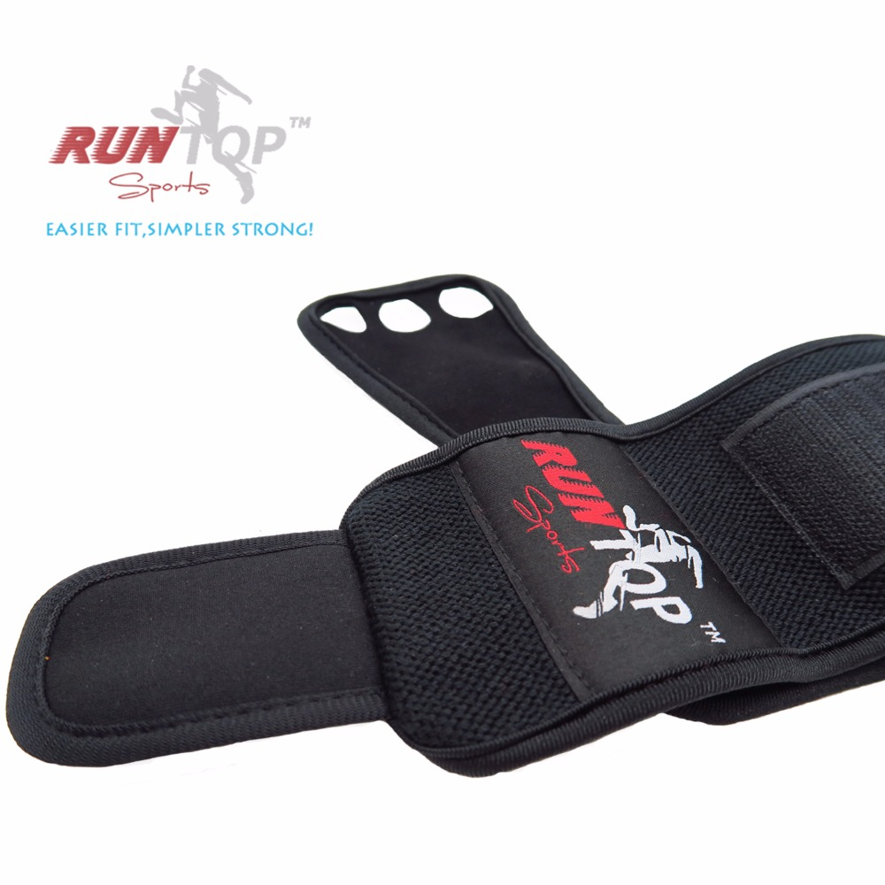 RUNTOP Crossfit WODS Trainingshandschuhe Grip Pad Workout - Fitness und Bodybuilding - Foto 3
