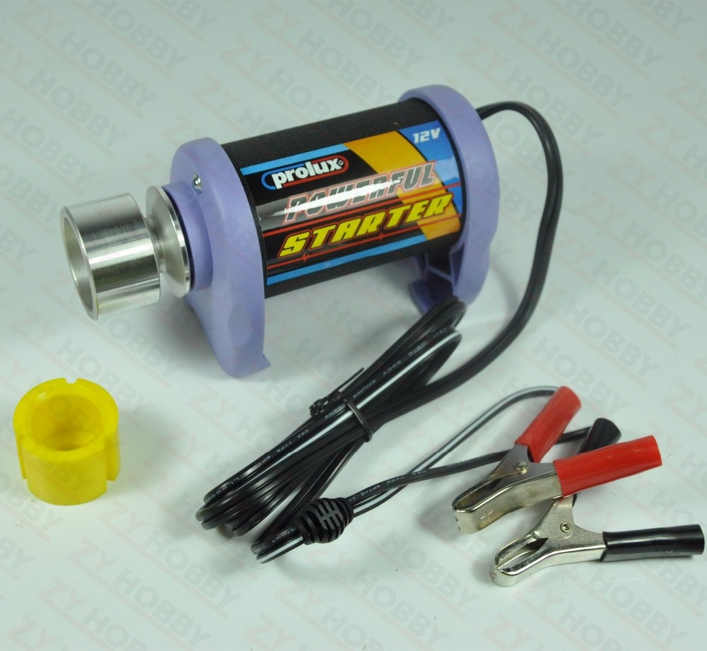 Фотография 100% Original Prolux 12V High Powered Starter 60 Size For RC Airpalne Car Boat Model Helicopter